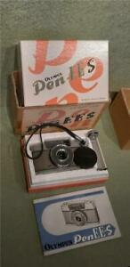 Vintage Olympus Pen-EE Camera in EES Inner & Outer Box with Soft Case