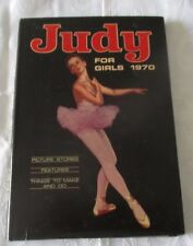 JUDY FOR GIRLS 1970 - With Dust jacket - Price Un-Clipped