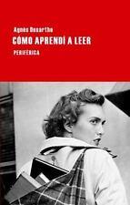 NEW - Como aprendi a leer (Largo recorrido) (Spanish Edition)