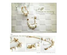Women's Beautiful Original Drop Dangle Simulated Pearl Design Earrings Jewellery