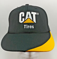 Caterpiller Cat Tires Snapback Hat Baseball Cap Cat Licensed Merchandise USA