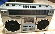 VINTAGE STEREO RADIO CASSETTE RECORDER  SANYO M9921LU