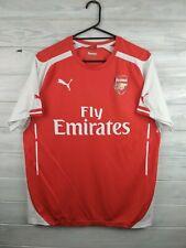 Arsenal jersey large 2014 2015 home shirt soccer football Puma