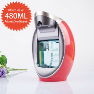 480ml Automatic Foam Soap Dispenser Intelligent Bathroom Touchless Dispenser