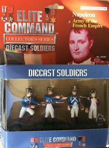 ELITE COMMAND NAPOLEON ARMY OF THE FRENCH EMPIRE -  BLUE BOX 1/32 SCALE