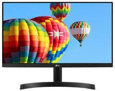 "LG 23.8"" Full HD Borderless IPS LED Monitor, VGA HDMI 1920x1080 HDMI VGA, NEW OB"
