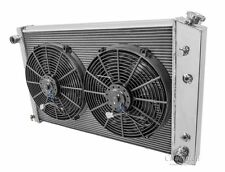 4 Row AS Radiator and Fan Combo For 81-90 GM Truck