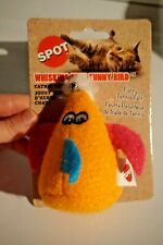 New listing Nwt Ethical Spot Cat Toy Cat Whiskers Felt Bird With Catnip Orange