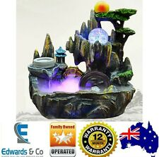 Indoor Water Feature Fountain Pump Spillway Ornament Home Decor Health Benefits