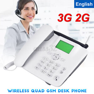 Fixed Wireless GSM Big Button Phone for wall or desk with Speaker and Memory
