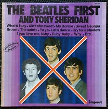 33t The Beatles first and Tony Sheridan (LP)