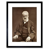 Carjat Victor Hugo Framed Print Wall Art 12x16 Inch