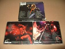 Bruce Dickinson Alive In Studio A Scream For Me Brazil 3 cd set 1999 cds are Ex
