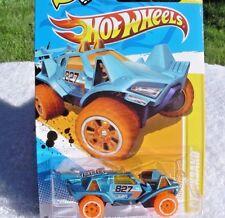 2012 Hot Wheels New Models Quicksand 19/50 (Metallic Blue Version)