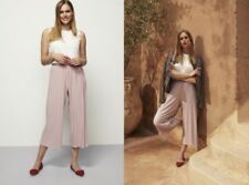 Long Tall Sally Wide Leg Mid Rise Trousers for Women