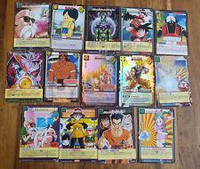 Lot 14 Cartes à jouer et à collectionner DRAGON BALL Z DBZ