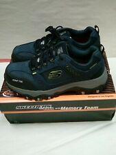 Skechers Mens Greetah Construction Shoe Size 9.5 Navy Black