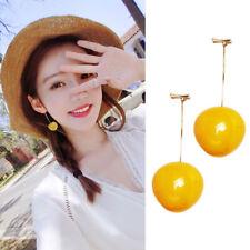 Studs Earrings Fashion Jewelry Sweet Gift Long Fruit Earrings Cherry Ladies Slim