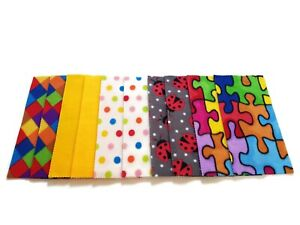 Fleece Nappy Liners Reusable Washable For Cloth Nappies x20