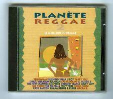 CD (NEUF) PLANETE REGGAE 2 (BURNING SPEAR UROY J.CLIFF THE MAYTALS YELLOWMAN)