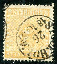 SCHWEDEN 1855 4b gest sehr schön (Z1356