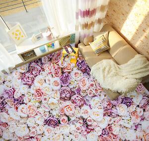 3D Romantic Rose 60RAI81 Floor WallPaper Murals Wall Print Decal AJ WALL Fay