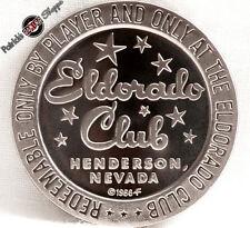 $1 PROOF-LIKE SLOT TOKEN ELDORADO CLUB CASINO 1966 FM HENDERSON NEVADA COIN NEW