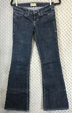 William Rast Betty Flare Jeans Dark Wash Size 25 Low Rise Inseam 31 Casual Denim