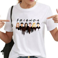 Friends T-Shirt TV Show Inspired Women Fashion Tee Tops Tumblr T shirts New