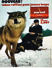 PUBLICITE ADVERTISING 085  1971  NARVAL   tabac pour pipe