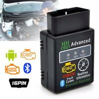 OBD2 ELM327 Bluetooth Car Scanner Android Torque Auto Diagnostic Scan Tool FT