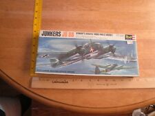 Revell Junkers JU 88 1-72 model kit VINTAGE 1967 sealed
