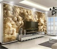 3d Wallpaper Wall Decor Waterproof Embossed For Living Room Bedroom Background