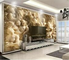 3d Wallpaper Wall Decor Waterproof Embossed For Living Room Bedroom Background