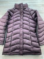 The North Face Woman's Small Full Zip Insulated Puffer Jacket Coat Purple
