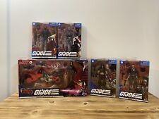 G. I. Joe Classified Cobra Island & Zartan Lot 5 figures