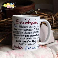 Tasse / Erzieherin / Geschenk KITA Kindergarten Weihnachten Dankeschön