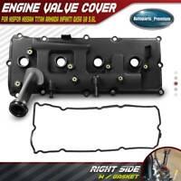 Engine Valve Cover w/Gasket for Nissan Armada NV2500 Titan Pathfinder Right 5.6L