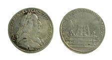 s46_20) Deutsches Reich Karl VII 1742 - 45 Silberabschlag 1742 Frankfurt 22mm