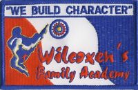 Wilcoxen's Family Academy Karate Martial Arts Chickasha OK Oklahoma Patch