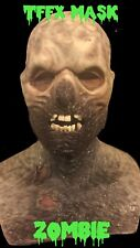 Tffx Silicone Mask Zombie With Real Acrylic Teeth. Halloween Mask Not Cfx