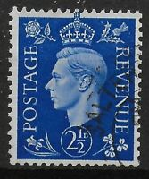 SG466Wi. 2&1/2d.Ultramarine Wmk.Inv. Superb Used With Excellent Perfs. Ref:03180