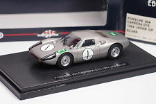 EBBRO PORSCHE 904 CARRERA GTS JAPAN GP 1964 #1 REF725 1/43