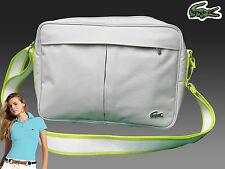 New Authentic LACOSTE Unisex Shoulder Messenger Camera Bag Casual 2.21 Dove Grey