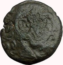 Philip V King of Macedonia 221BC Greek Coin Bearded Hercules Flute  i33875