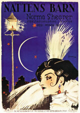 Lady of the night Norma Shearer vintage movie poster