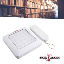 LAMPADA A 16 LED CON TELECOMANDO LUCE EMERGENZA ARMADI CORRIDOI SAFE ALARM