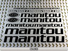 MANITOU Stickers Decals  Bicycles Bikes Cycles Frames Forks Mountain MTB BMX 56L