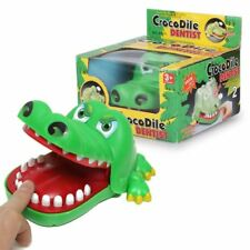 NUOVO Coccodrillo Bocca dentista Bite Finger gioco divertente famiglia giocattolo regalo per i bambini