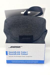 Bose SoundLink Color Bose Speaker Carry Travel Case Neoprene Gray OEM NEW